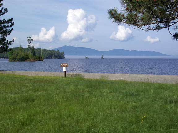 Lily Bay State Park   Indian Hill Moosehead Lake Bulletin Lilly Bay State Park on