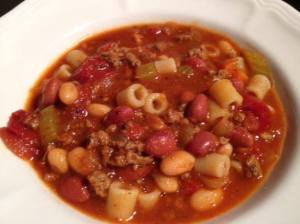 Pasta Fagioli Slow Cooker Version - Just Like Olive Garden